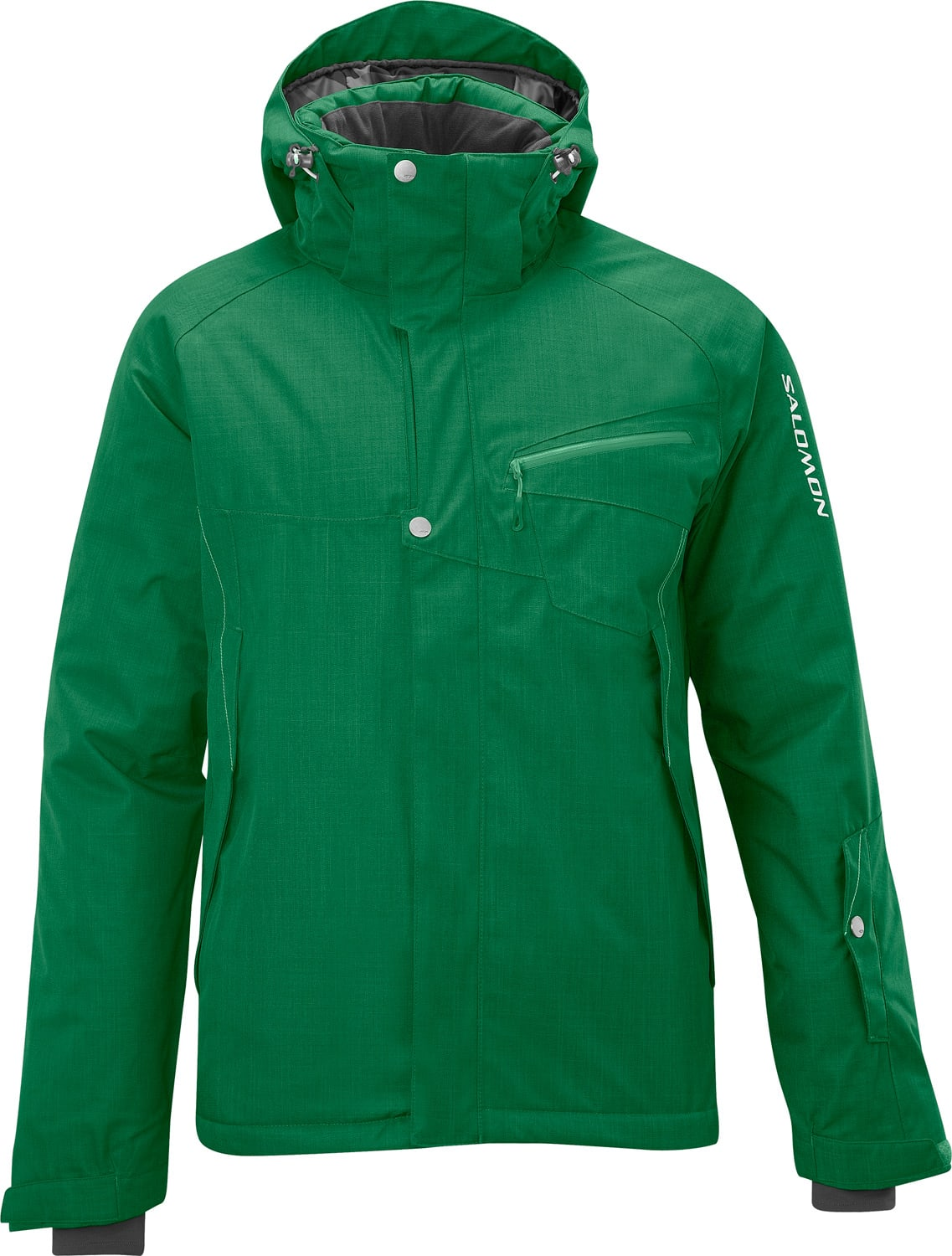 Shop for Salomon Fantasy II Ski Jacket Pineneedle - Men's