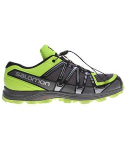 Salomon Fellraiser Shoes Black/Autobahn/Pop Green