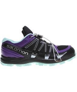Salomon Fellraiser Shoes Black/Igloo Blue/Grape Juice