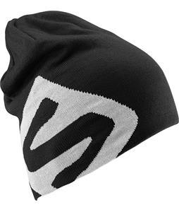 Salomon Flat Spin II Beanie Black/White
