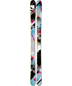 Salomon Galaxy Skis Black/Blue/Pink