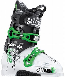Salomon Ghost 100 Ski Boots White/Black