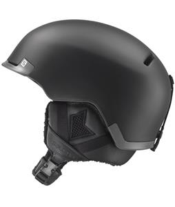Salomon Hacker Ski Helmet Black Matte/Grey