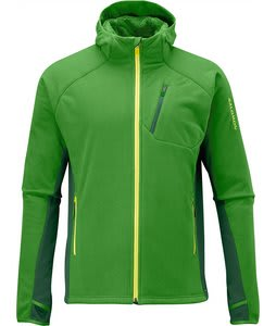 Salomon High Pile Hoody Smart Skin Fleece Cypress/Fairplay