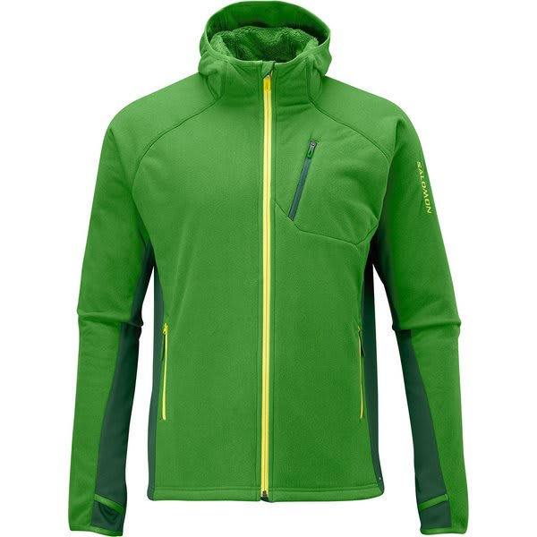 Salomon High Pile Hoody Smart Skin Fleece