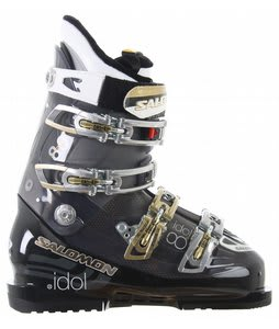 Salomon Idol 8 Ski Boots Blk/Blk/Trans