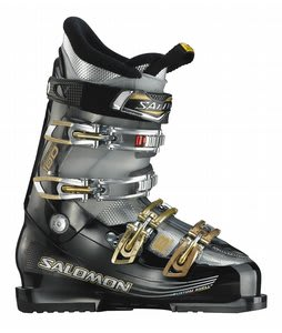 Salomon Impact 8 Ski Boots Black Trans/Black
