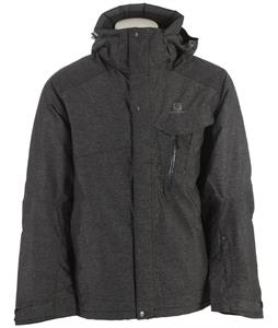 Salomon Impulse Ski Jacket Charcoal Heather