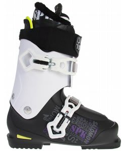 Salomon Kaos Ski Boots Black/White