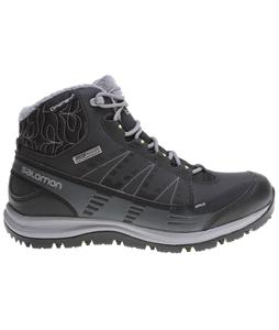 Salomon Kiana CS WP Boots Black/Asphalt/Flashy-X