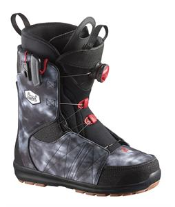 Salomon Launch BOA Str8Jkt Snowboard Boots Black/Denim