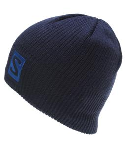 Salomon Logo Beanie Big Blue-X