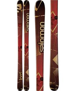 Salomon Lord Skis Red/Black/Brown