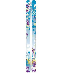 Salomon Mai Tai Skis Blue Green/Purple