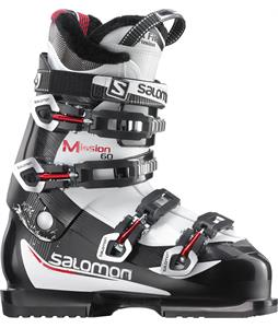 Salomon Mission 60 Ski Boots Black White Red
