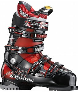 Salomon Mission Rs 7 Ski Boots Black/Red Translucent