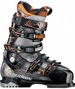 Salomon Mission RS 8 Ski Boots Black/Crystal Translucent