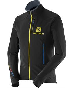 Salomon Momemtum Cross Country Ski Jacket Black