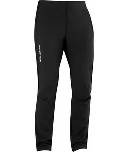 Salomon Momentum II Softshell Cross Country Ski Pants Black/Black