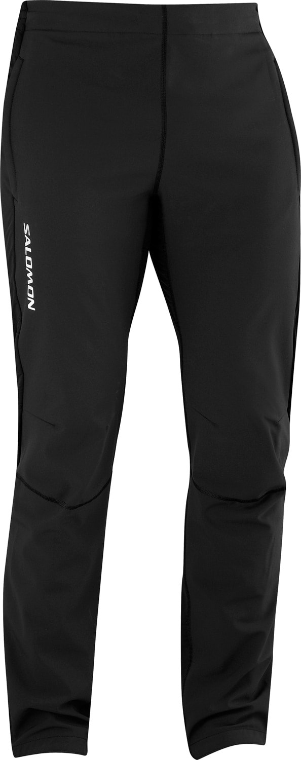 Shop for Salomon Momentum II Softshell Cross Country Ski Pants Black/Black - Men's