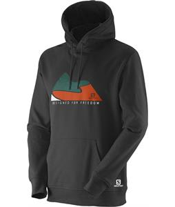 Salomon Mountain Dff Hoodie Black