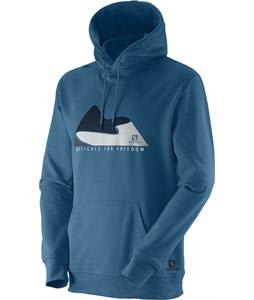 Salomon Mountain Dff Hoodie Petrolx