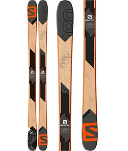 Salomon NFX Lab Skis Orange/Wood Beige