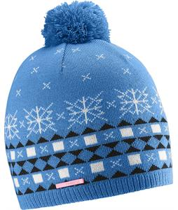 Salomon Nordic Beanie Methyl Blue/Dark Cloud/White