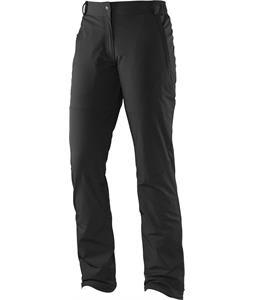 Salomon Nova Softshell Cross Country Ski Pants Black