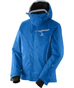 Salomon Open Jacket Union Blue/White