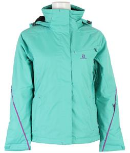 Salomon Open Ski Jacket Cascade Green