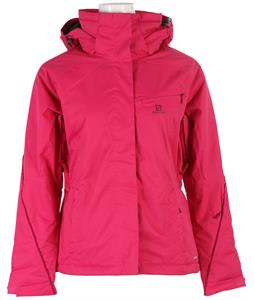 Salomon Open Ski Jacket Daisy Pink