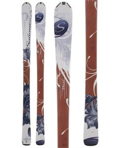 Salomon Origins Pearl Skis White/Brown/Bl