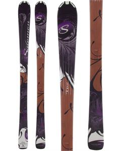 Salomon Origins Topaz Skis Black/Brown