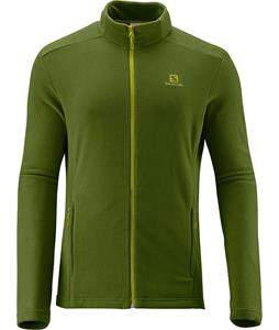 Salomon Panorama FZ Midlayer Fleece Dark Seaweed