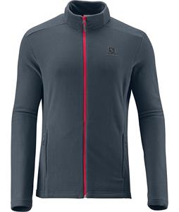 Salomon Panorama FZ Midlayer Fleece Dark Cloud