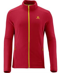 Salomon Panorama FZ Midlayer Fleece Victory Red