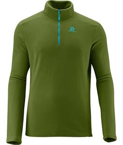 Salomon Panorama HZ Midlayer Fleece Dark Seaweed