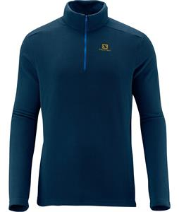 Salomon Panorama HZ Midlayer Fleece Midnight Blue