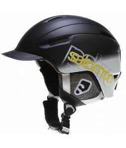 Salomon Patrol Snowboard Helmet Black Matte