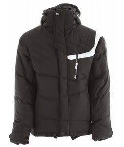 Salomon Pic Down Ski Jacket Black/White