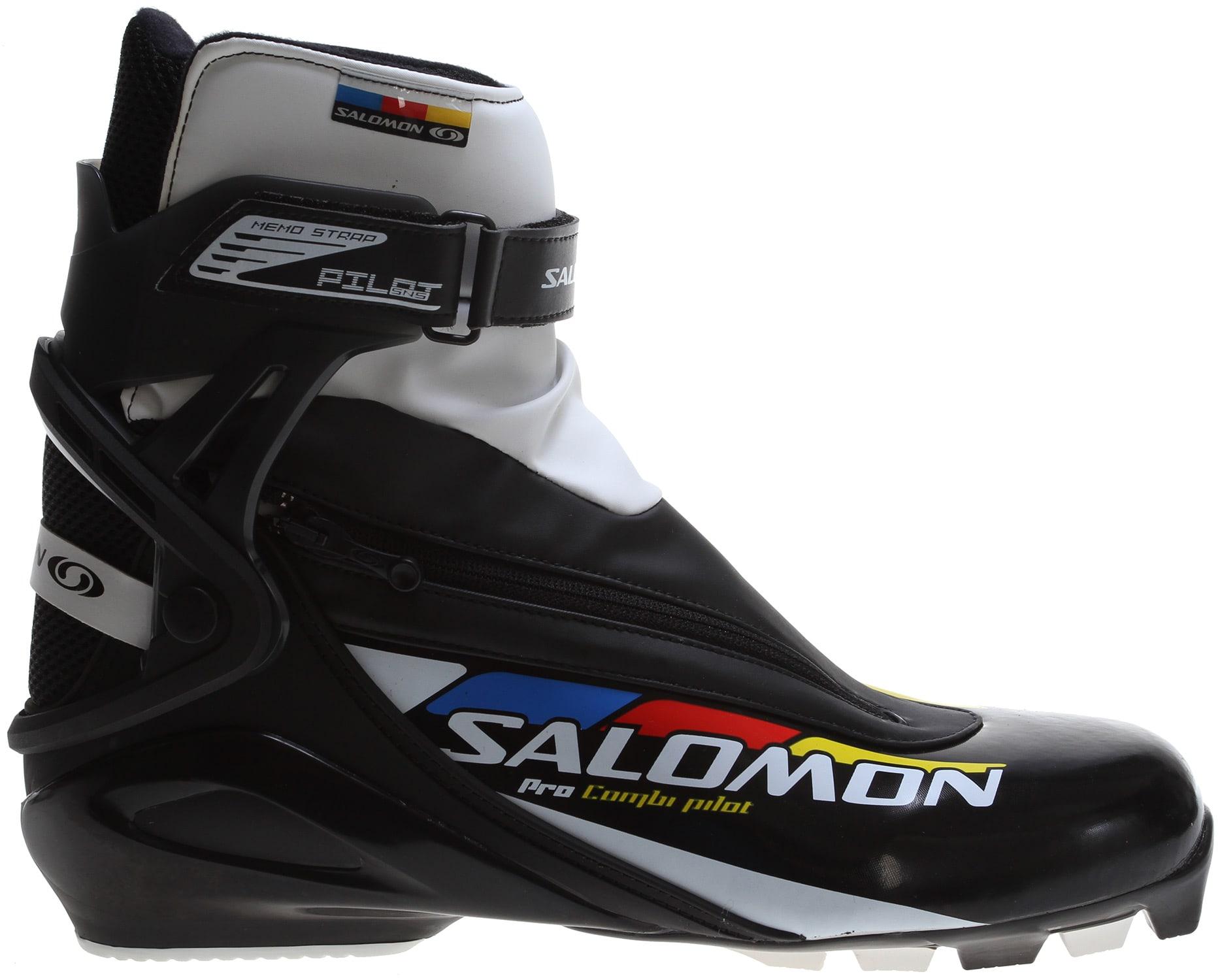 Salomon Pro Combi Pilot Nordic Ski Boots on PopScreen