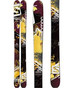 Salomon Q-105 Skis Bordeaux/Brown/Black