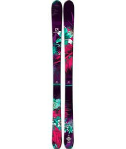 Salomon Q-88 Lux Skis Black/Red/Green