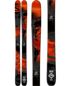 Salomon Q-98 Skis Black/Red