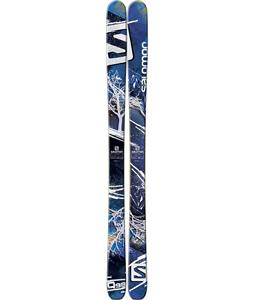 Salomon Q-98 Skis Blue/White/Black