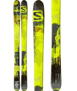 Salomon Q-Lab Skis Green/Black