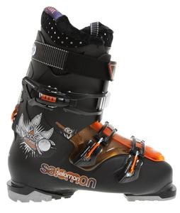 Salomon Quest Access 60 Ski Boots Black/Orange Translucent