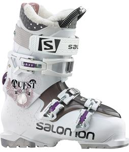 Salomon Quest Access 60 Ski Boots White/Shrew Translucent
