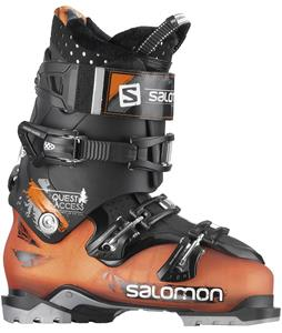 Salomon Quest Access 80 Ski Boots Orange/Black